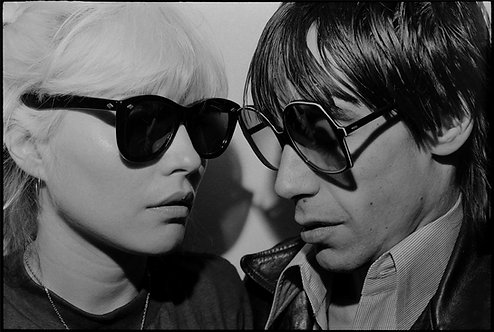 Debbie Harry & Iggy Pop. New York City, 1977