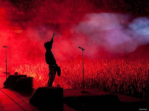 Billie Joe Armstrong by Bob Gruen. Paris, 2010