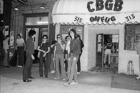 CBGB outside. New York City