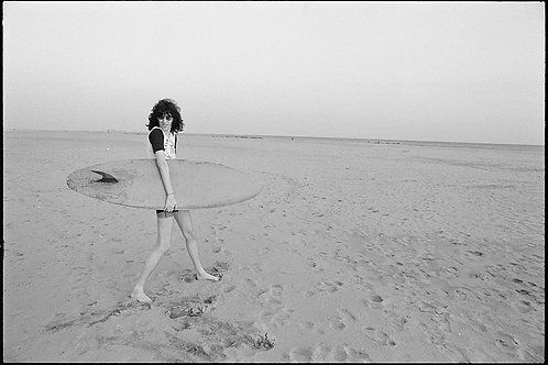 Joey Ramone by Roberta Bayley. Coney Island, 1977