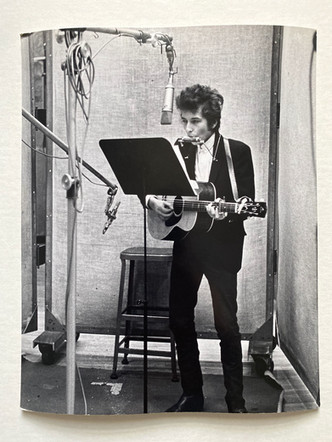 """Bob Dylan, """"Bringing it All Back Home"""" Recording Session, New York, 1965"""