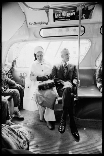 Couple on Bus