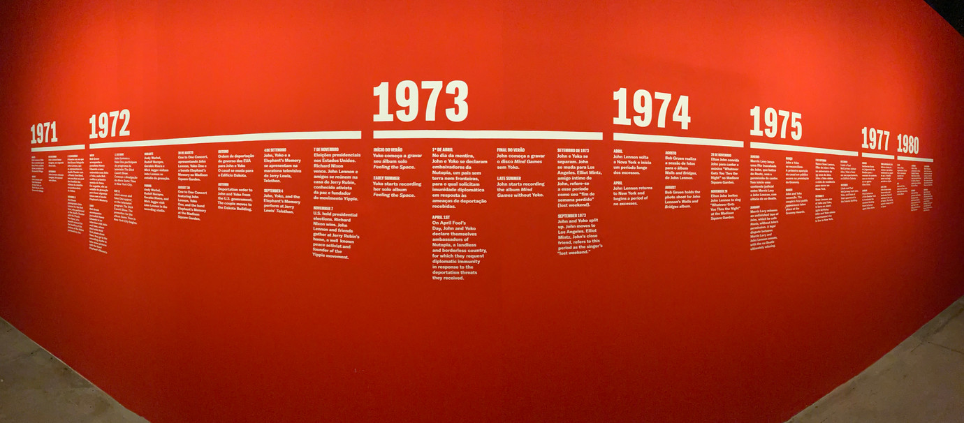 timeline | The New York years