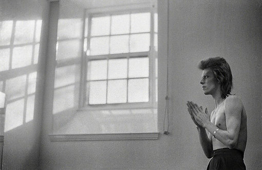 David Bowie, Praying By Windows, Scotland, Summer 1973