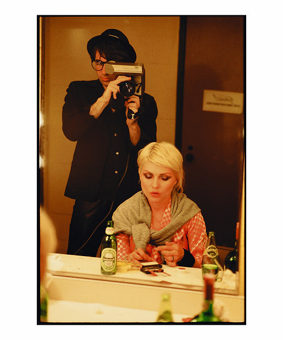 Debbie Harry and Chris Stein by Roberta Bayley. New Orleans, 1979
