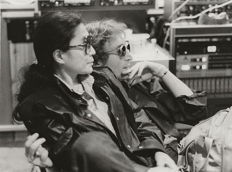 John Lennon & Yoko Ono - Hit Factory Profiles Hit Factory, NYC 1980