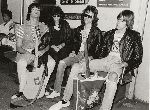 Ramones - On Subway New York City 1975
