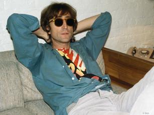 John Lennon recording Double Fantasy. NYC,1980