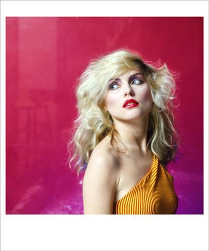 Debbie Harry in Pink