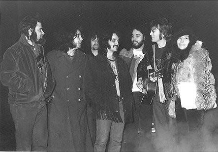 John Lennon & Yoko Ono and Plastic Ono Elephants Memory Band NYC 1972