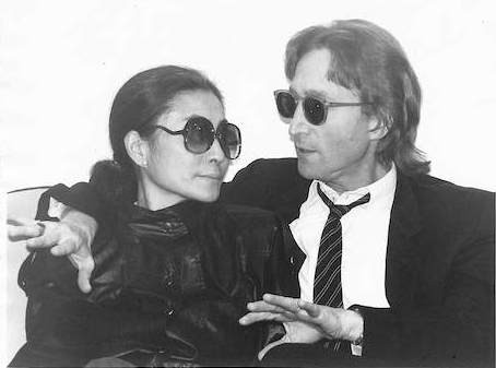 John Lennon & Yoko Ono - Conversation On Hit Factory Couch The Hit Factory, NYC 1980