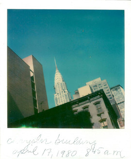 Chrysler Building. New York, 1980