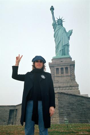 John Lennon. NYC, 1974