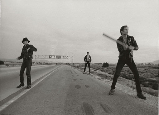 Clash - On the road with Baseball bats. USA, 1979