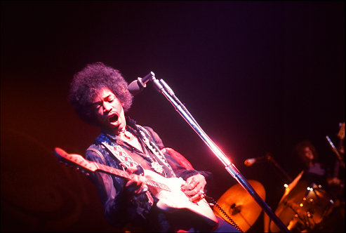 Jimi Hendrix, Winterland, San Francisco, CA, 1968