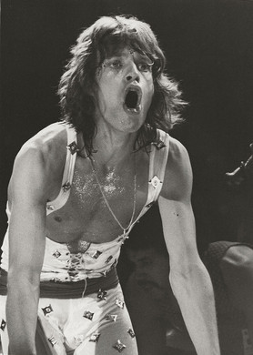 Mick Jagger - On Stage Profile MSG, NYC 1972