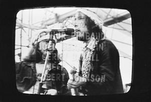 Bob Dylan. Hard Rain - TV Set (detail)