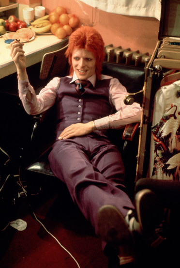 David Bowie at Backstage. 1973