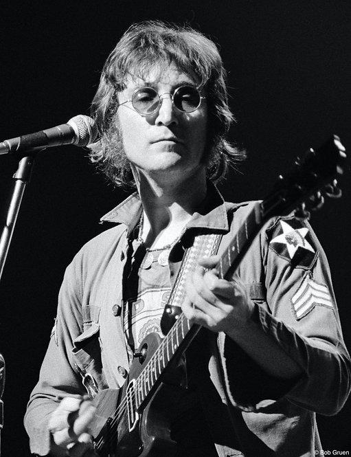 John Lennon by Bob Gruen. NYC, 1972