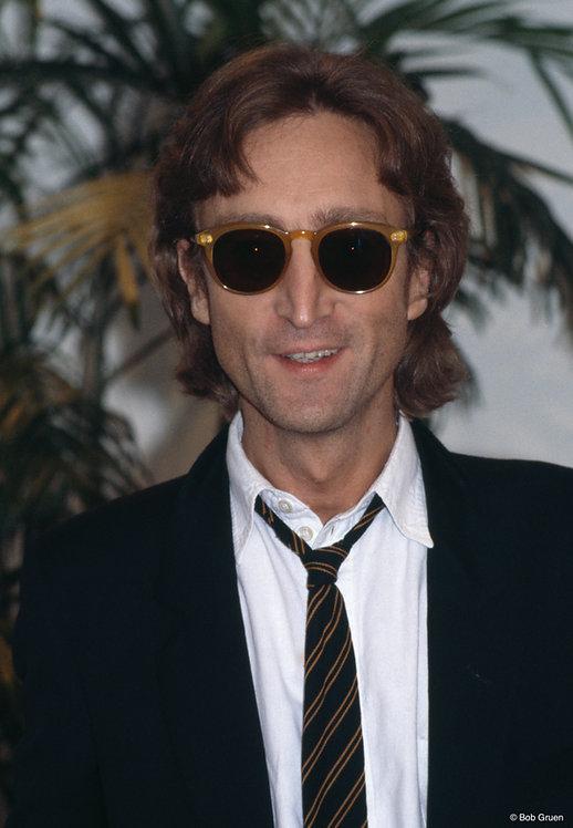 John Lennon by Bob Gruen. NYC, 1980