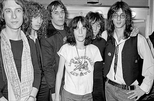 Patti Smith Group and John Cale, The Bottom Line, NYC, 1975