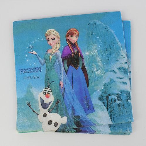 Frozen Paper Napkins