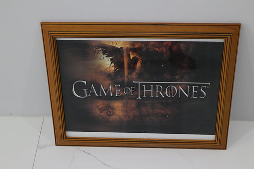 Game of Thrones Picture Frame