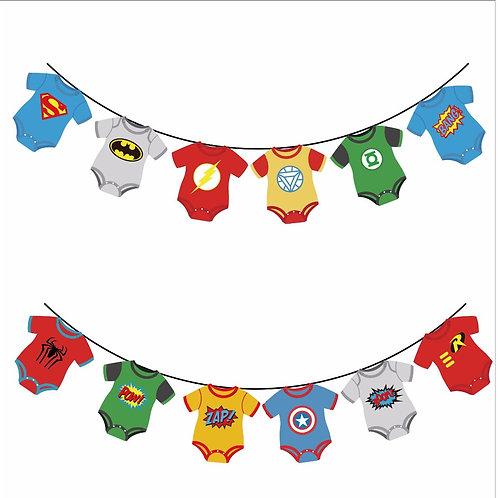Superhero Boy banner