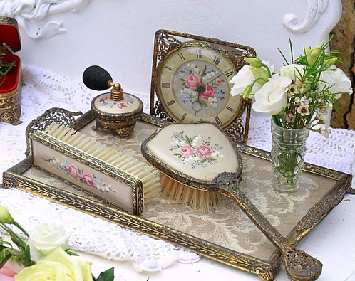 Vintage Dressing Table Set | Modern Coffee Tables and Accent Tables