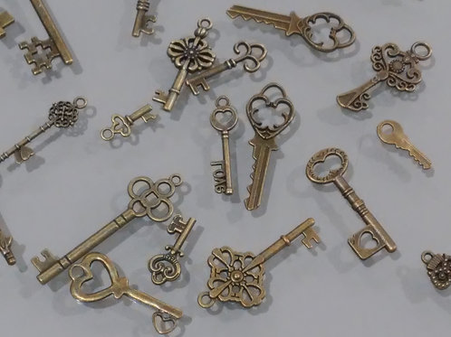 Vintage Keys Assorted