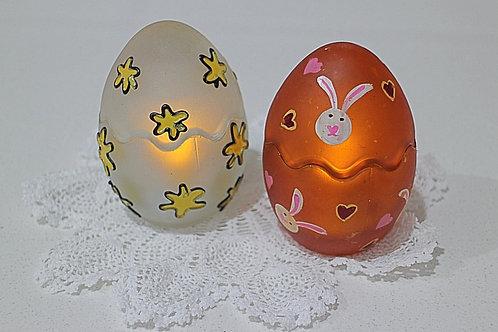 Vintage Easter Egg Tealight Holders