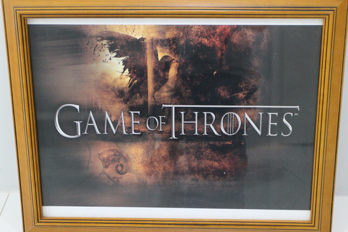 Game of Thrones Picture Frame | Hire Love Vintage Wedding and Event ...