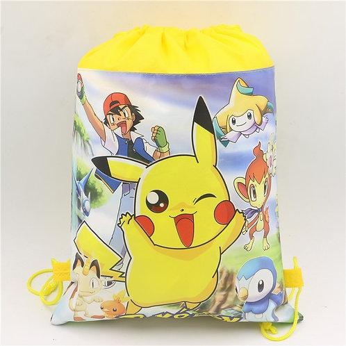 Pokemon drawstring backpack.
