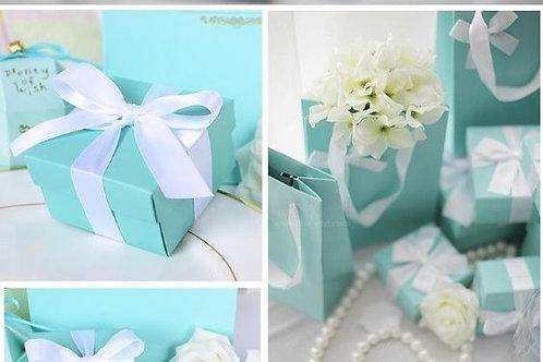 Tiffany Blue Bonbonerie boxes