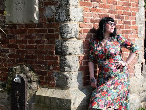 Sewing My Dream Wardrobe ~ The Perfect Tea Dress