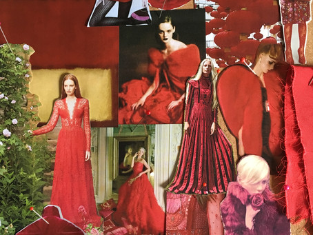 Red- How to wear the colour of the season