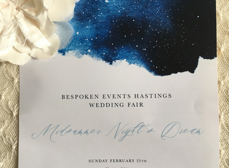 Bespoken Wedding fair- February