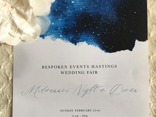 Bespoken Wedding fair- February
