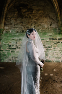 A dream dress for a Modern Gothic Bride