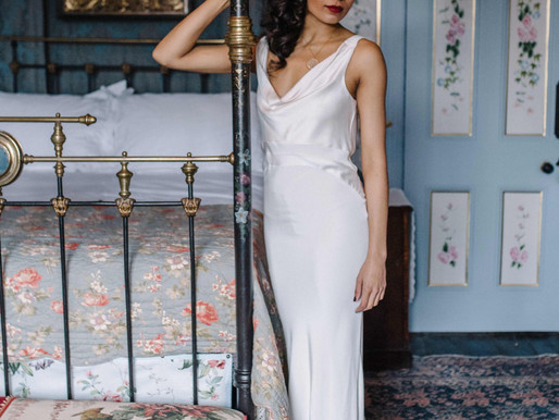 Say Hello to the Pearl- a decadently romantic dress