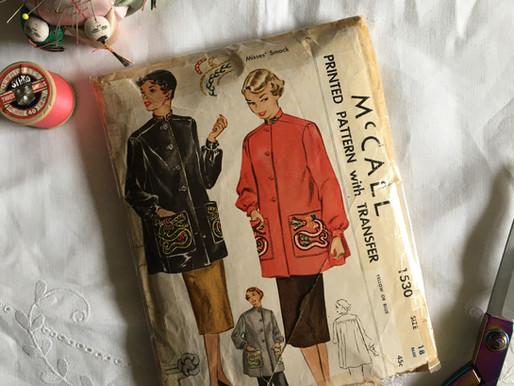 Sewing my Dream Wardrobe ~ The Dragon Charmer Vintage Jacket