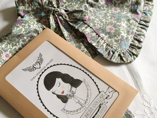 The Bess Collar ~ A Vintage Inspired Make for the Modern Seamstress