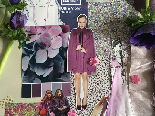 Purple- How to wear the colour of the Year
