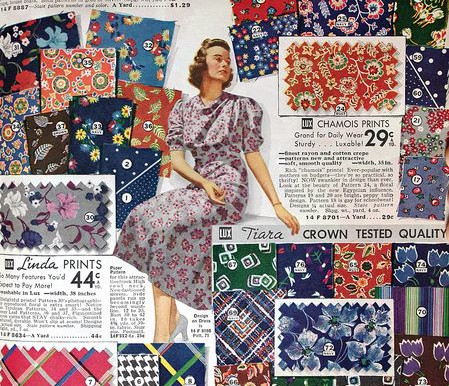 Perfect Fabrics for the Vintage Seamtress