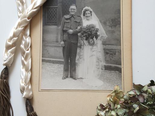 My Nan's Wedding dress