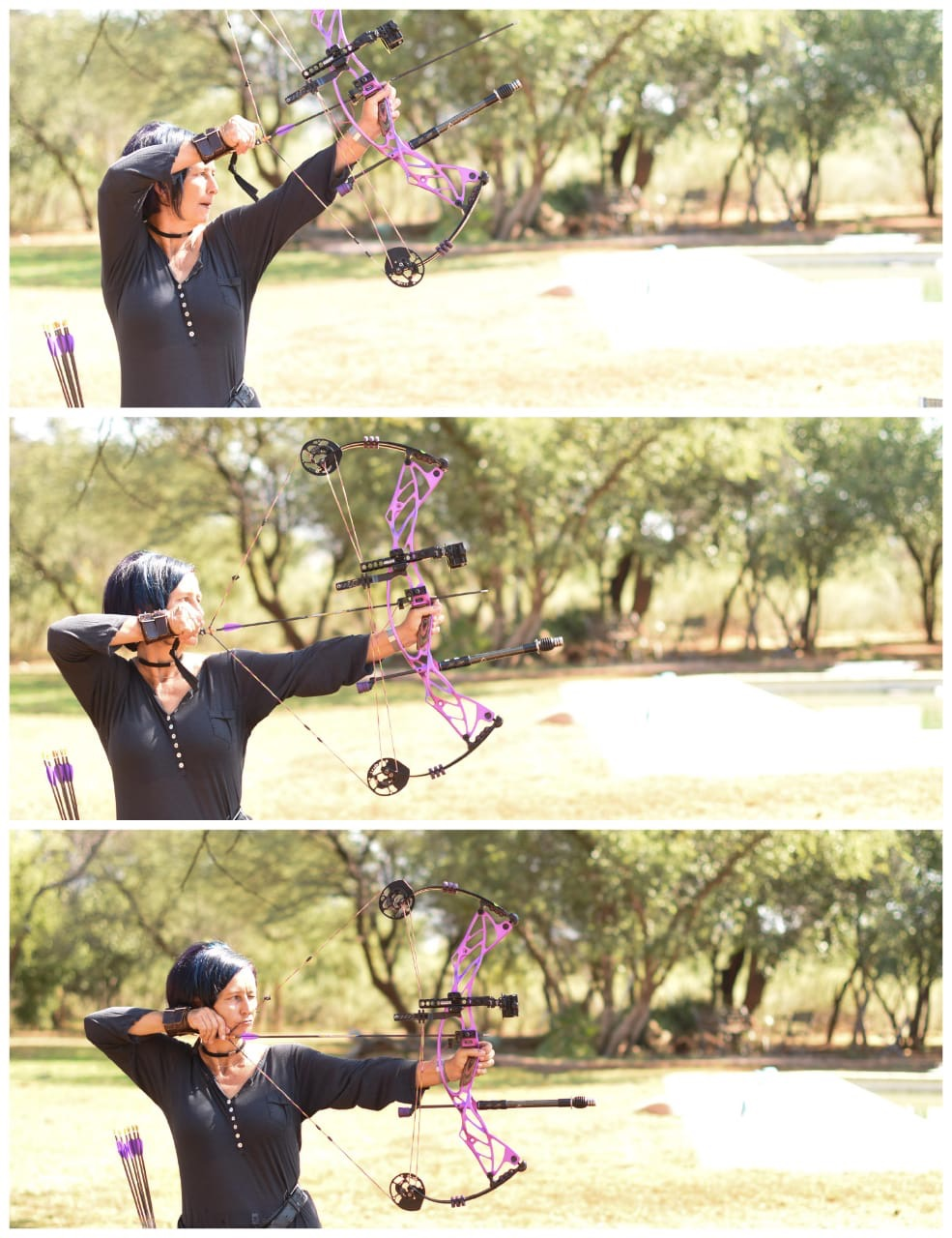 bow shooting