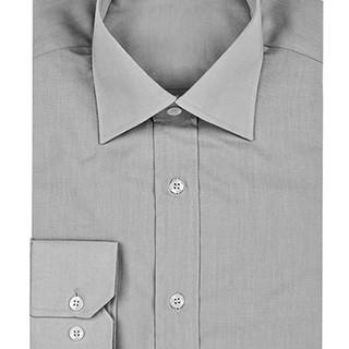 Grey button-up shirt