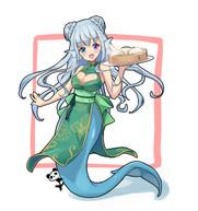 水宮セレナちゃん(デザートxチャイナ服)