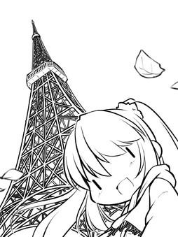 東京タワー完成の日