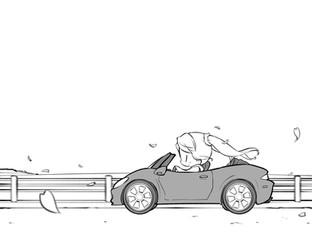 オープンカーの日